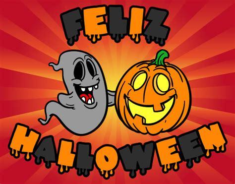 imagenes feliz dia de halloween dibujo de feliz halloween pintado por jonebilbao en