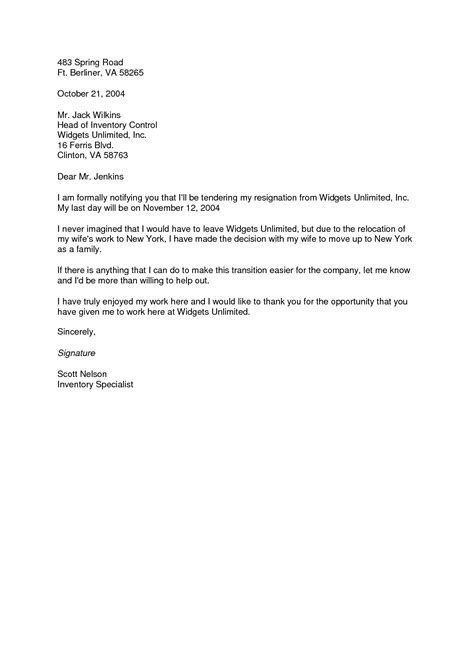 relocation cover letter template best photos of spouse relocation resignation