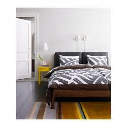 Ikea Toddler Bed Mattress Review Ikea Stockholm Bed Frame The Leather Cushions Make It