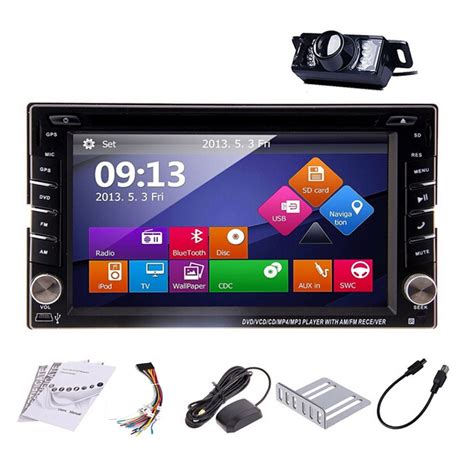 Headunit Doubledin Tv 6 95 Quot eincar free rearview hd digital touch