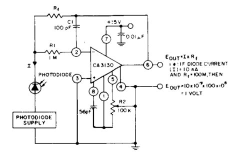photodiode output voltage current to voltage circuit converter circuits next gr