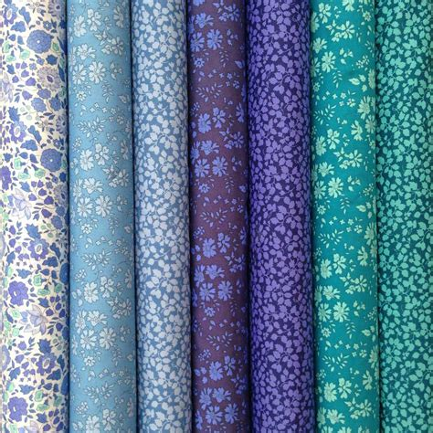 liberty fabric tana lawn classics 7 fat quarters selection 411 alice caroline liberty