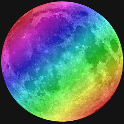 colorful moon wallpaper colorful moon by brainiac1310 on deviantart
