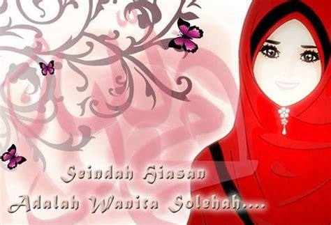 wallpaper wanita cantik muslimah girl anime wallpapers wallpaper muslimah kartun