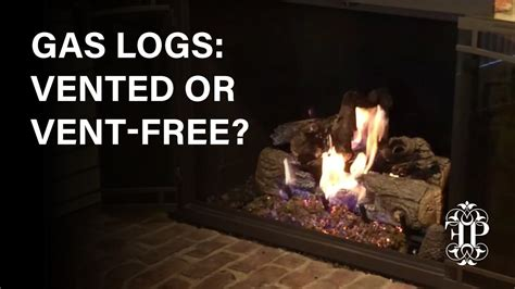 What Do You Need For A Fireplace by Gas Logs Vented Or Vent Free How To Tell The Difference