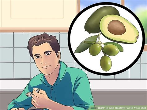 6 healthy fats to add to your diet 4 ways to add healthy to your diet wikihow