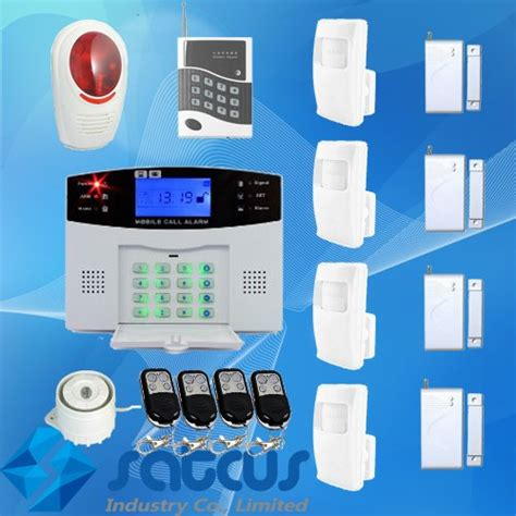 home guard wireless intelligent mobile call gsm burglar