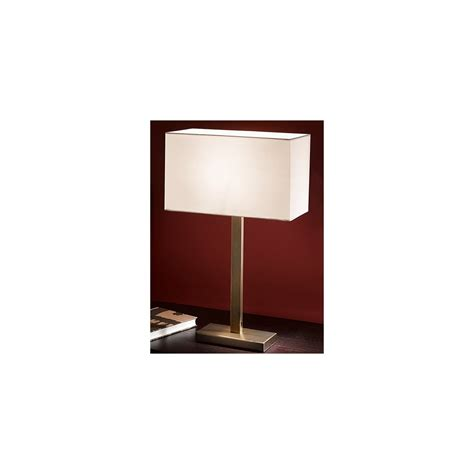 white table l shade tl876 table l bronze white shade