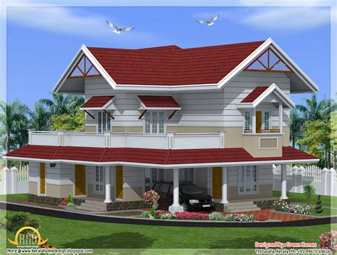 House Plans In Kerala Style 2100 Sq 3 Bedroom Kerala Style House Kerala Home Design Kerala House Plans Home