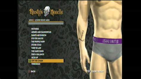 saints row tattoos saints row the third tattoos