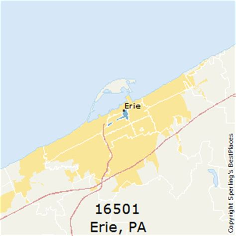 zip code map erie county pa best places to live in erie zip 16501 pennsylvania