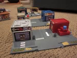 Hot Wheels City Set Rare Playset  Streets, Garage, Ferry