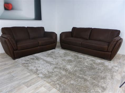 Natuzzi Sofa Warranty by Natuzzi Editions Havanna 3 Seater And 2 Seater Sofas