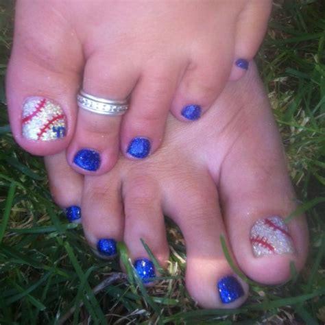 Baseball Nail Designs For Toes