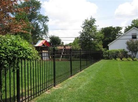 front yard metal fences wrought iron fences landscaping network