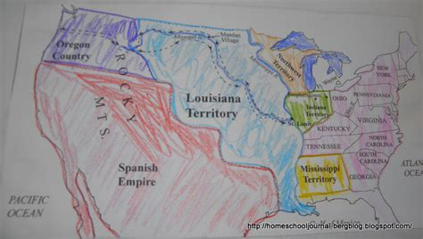 louisiana purchase interactive map all things beautiful lewis and clark and the corps of