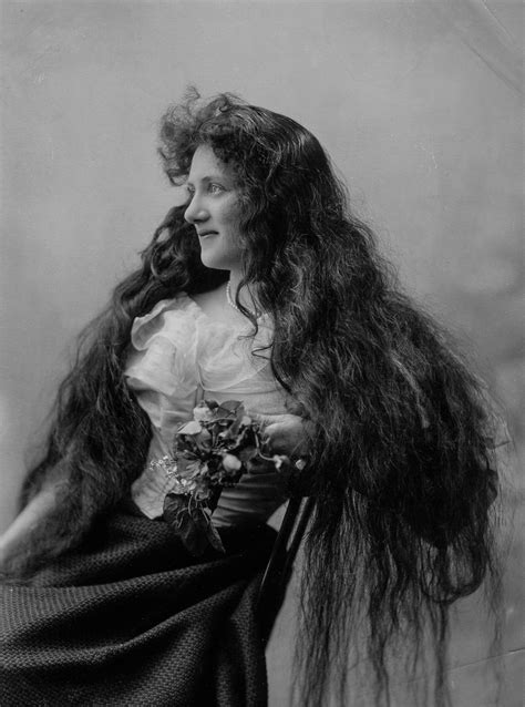 hair styles in 1900 the victorian women who never cut their hair