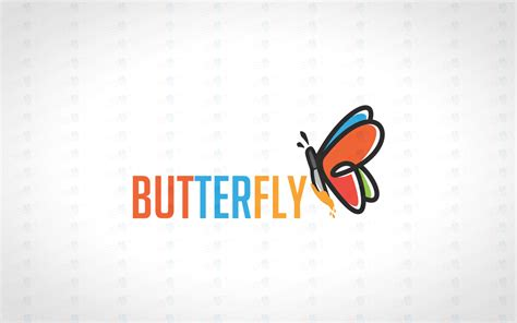 colorful butterfly logo creative colourful butterfly logo for sale lobotz