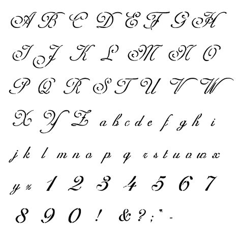 printable alphabet font designs tattoo schriften vorlagen 40 designs posts fonts