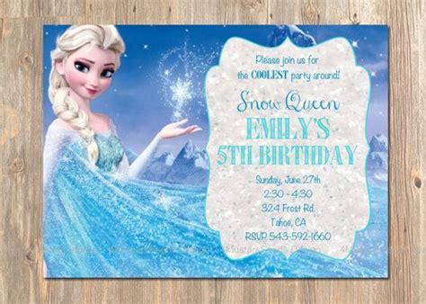 printable frozen invitation card 77 best disney s frozen birthday party from 4mustardseeds