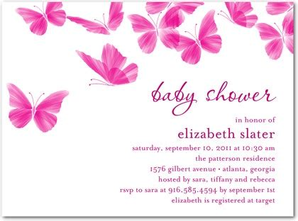 Butterfly Baby Shower Invitations Printable Free by 16 Beautiful Butterfly Baby Shower Invitations