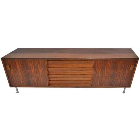 danish modern rosewood sideboard or buffet mid century