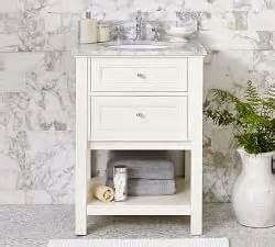 bathroom vanities sink consoles pottery barn
