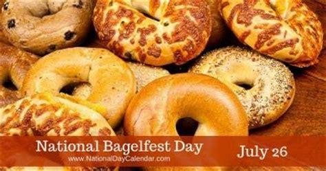 images  pomona july  national bagelfest day national coffee milkshake day national