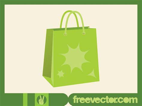 Shopping Bag Free Vector Green Shopping Bag Vector Vector Graphics Freevector