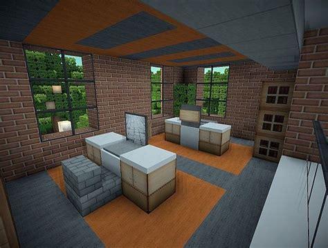 Minecraft Office Desk by Z3 S Modern Office Minecraft Project