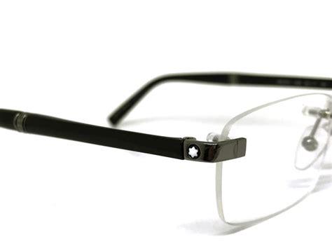 Frame Mont Blank Lensa woodnet rakuten global market glasses mont blanc no hci no gunmetal silver to point mont