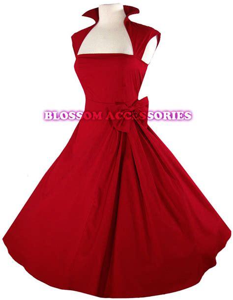 50 s swing rk40 rockabilly vintage swing work evening dress 40s 50s