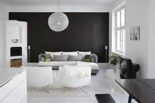 White Interior Design Ideas by Stylish Home Black And White Interiors