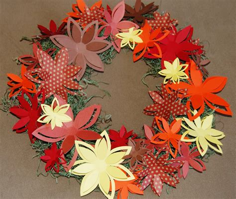 Fall Paper Crafts - fall paper craft ideas phpearth