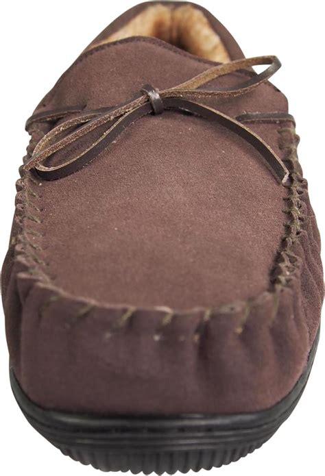Cowhide Suede - norty mens genuine leather cowhide suede slippers