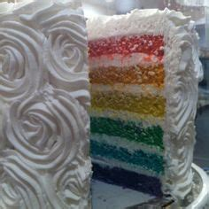 Origami Weddingku by Rainbow Wedding Cake Weddings Rainbow Style
