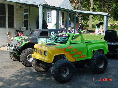 grave digger monster truck go kart for sale my kids mini monster truck go kart