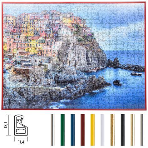 cornice per puzzle mira cornice per puzzles in plastica per 100 fino a 500