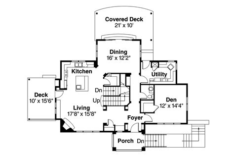 southwest home floor plans southwest house plans santa rosa 30 800 associated designs