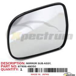 lexus rx330 driver side mirror lexus original oem left driver side mirror glass 87906
