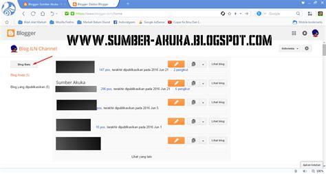 membuat blog mudah cara membuat blog mudah terbaru dan buat artikel terbaru