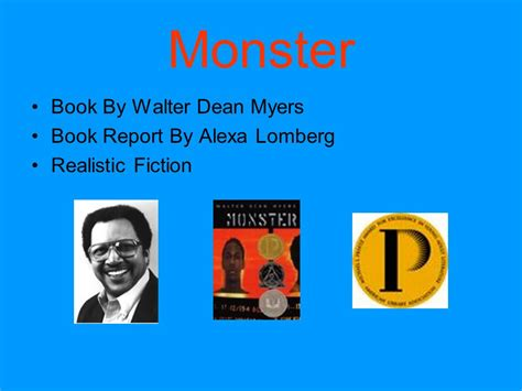 realistic fiction book report book by walter dean myers book report by