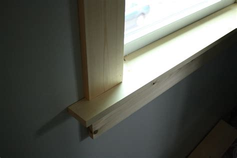 New Window Sill I Learned To Frame A Window Merrypad