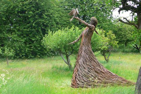 john malkovich driftwood willow sculpture trevor leat garden art garden art