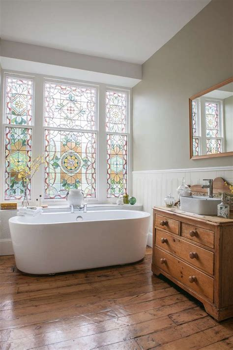 stained glass window bathroom 1000 ideas about large cabinets on pinterest large