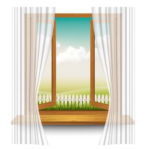 tormentor curtain how to create a wooden window frame with curtains in adobe