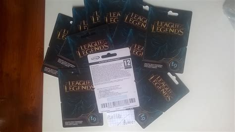 League Of Legends Gift Cards - buy riot points league of legends gift card 1475rp euw ne and download
