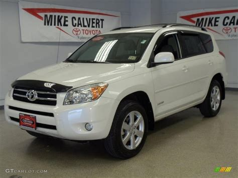 2008 blizzard pearl white toyota rav4 limited 34392885 gtcarlot car color galleries