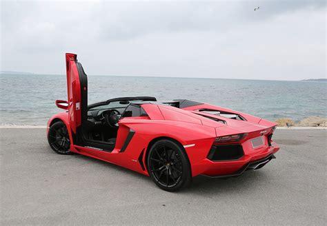 Hire Lamborghini Aventador Roadster LP700 4   Rent