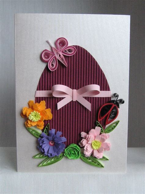 Handmade Easter Cards Ideas - quilling m handmade crafts and hobbies quilling easter